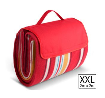 2 Metre Picnic Blanket - Red